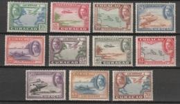 Curacao 1942 Luchtpost Wilhelmina NVPH 26-37 MLH/* - Curaçao, Nederlandse Antillen, Aruba