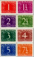 Suriname 1948 Cijfers  NVPH 249-256  Ongestempeld/MH/* - Suriname ... - 1975