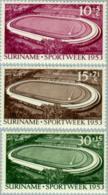 Suriname 1953 Opening Stadion Paramaribo NVPH 309 - MH* Hinged - Suriname ... - 1975