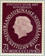 Suriname 1954 Koninkrijks Statuut - NVPH 316 Ongestempeld/MH/* - Suriname ... - 1975