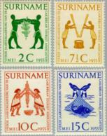 Suriname 1955 Caribbean Tourist Association - NVPH 317 MNH** Postfris - Suriname ... - 1975