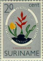Suriname 1959 5 Jaar Koninkrijks Statuut - NVPH 335 MNH** Postfris - Suriname ... - 1975