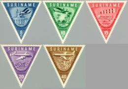 Suriname 1960 Opening Luchthave Zanderij - NVPH 340 Ongestempeld/MH/* - Suriname ... - 1975