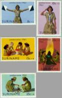 Suriname 1961 Jamborette - NVPH 371 MNH** Postfris - Suriname ... - 1975