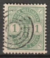Dansk Vestindien 1900 1 Cent Mi. 16 - Deens West-Indië