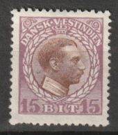 Dansk Vestindien 1915 15 Cent  Yvert 46 - Deens West-Indië