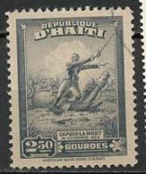 Haïti 1946 Y&T N°318 - Michel N°341 (o) - 2,50g Capois La Mort - Haïti