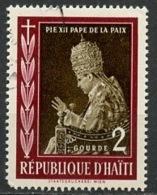 Haïti 1959 Y&T N°412 - Michel N°559 (o) - 2g Pie XII - Haïti