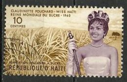 Haïti 1960 Y&T N°437 - Michel N°615 (o) - 10c C Fouchard - Haïti