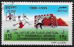 Egypte - 1999 - 16e Championnat Mondial De Hand-Ball Pour Hommes -  AM#280 - Used - Excellent état - Égypte