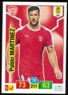 Panini Football Ligue 1 Adrenalyn XL 2019 - 2020 Pablo Martinez Nîmes 247 - Trading Cards