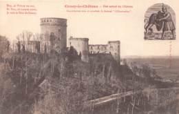 02 - COUCY-le-CHÂTEAU - Etat Actuel Du Château - Other Municipalities