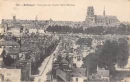 45 - ORLEANS - Vue Prise De L'Eglise Saint-Marceau - Orleans
