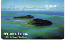 Wallis Et Futuna Telecarte Phonecard Prepaid WF9 Iles Du Lagon SC7 Us Courant - Wallis Und Futuna