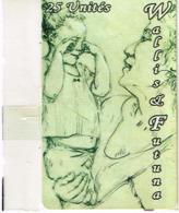 Wallis Et Futuna Telecarte Phonecard Prepaid WF Peinture Grand Mere Enfant Neuve NSB BE - Wallis-et-Futuna