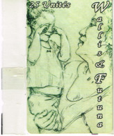 Wallis Et Futuna Telecarte Phonecard Prepaid WF Peinture Grand Mere Enfant Neuve NSB BE - Wallis Und Futuna