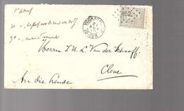162 = Voorschoten 1888  > Cleve J.W.L. Van Der Schaaff (FG-44) - Brieven En Documenten