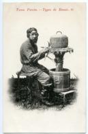 RUSSIA : TYPES DE RUSSIE - No 61 / RUSSIAN WICKER BASKET WEAVER - Russie