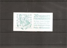 Suède ( Carnet 1464 XXX -MNH) - Carnets