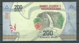 Madagascar 200 Ariary Nouvelle Série - Madagaskar