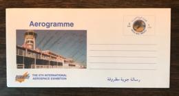 UAE 2000 Postal Stationery Birds Lanner Falcon Aerogramme Mint - Birds
