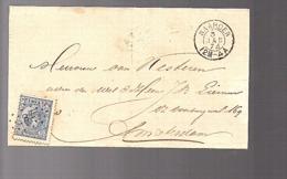 1874 NAARDEN > Amsterdam (FG-50) - Brieven En Documenten