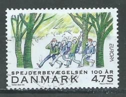 Danemark YT N°1473 Europa 2007 Scoutisme Oblitéré ° - 2007