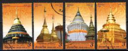 TAILANDIA - 2018 - MONUMENTI STORICI TAILANDESI - USATI - Tailandia