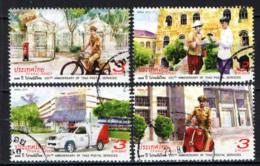 TAILANDIA - 2018 - 135° ANNIVERSARY OF THAI POSTAL SERVICES - USATI - Tailandia