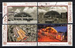 TAILANDIA - 2016 - CENTENARY OF BANGKOK RAILWAY STATION - USATI - Tailandia