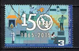 TAILANDIA - 2015 - 150° ANNIVERSARIO DELL'ITU - USATO - Tailandia