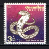 TAILANDIA - 2013 - YEAR OF THE SNAKE - USATO - Tailandia