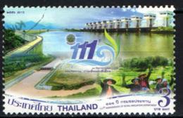 TAILANDIA - 2013 - ROYAL IRRIGATION DEPARTMENT - USATO - Tailandia