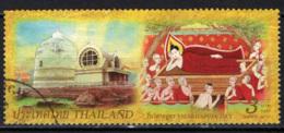 TAILANDIA - 2010 - VISAKHAPUJA DAY - CELEBRAZIONI DELLA NASCITA DI BUDDA - USATO - Tailandia