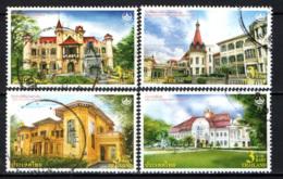 TAILANDIA - 2010 - PALAZZI STORICI DELLA TAILANDIA - USATI - Tailandia