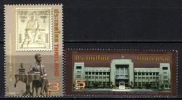 TAILANDIA - 2010 - 70° ANNIVERSARY OF GENERAL POST OFFICE BUILDING - USATI - Tailandia