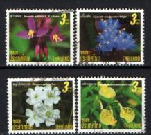 TAILANDIA - 2009 - FIORI - FLOWERS - USATI - Tailandia