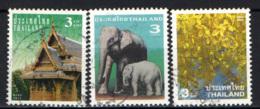 TAILANDIA - 2003 - TEMPIO, ELEFANTI,  - USATI - Tailandia