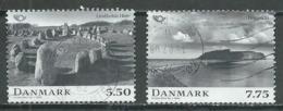Danemark YT N°1493/1494 Norden 2008 La Mythologie Nordique Oblitéré ° - Denmark