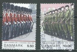 Danemark YT N°1495/1496 Garde Royale Oblitéré ° - Denmark