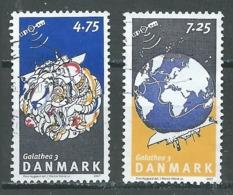 Danemark YT N°1469/1470 Expédition Scientifique Galathea Oblitéré ° - Denmark