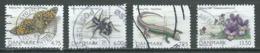 Danemark YT N°1475/1478 Faune Et Flore Danoise Oblitéré ° - Denmark