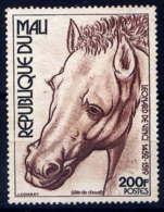 MALI - 291(*) - TÊTE DE CHEVAL PAR LEONARD DE VINCI - Mali (1959-...)