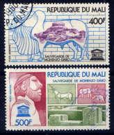 MALI - A283/284° - SAUVEGARDE DU TEMPLE DE MOHENJO-DARO - Mali (1959-...)