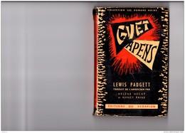 LP1   GUET APENS  PADGETT  EDITION ORIGINALE  POLICIER  1950  ROMANS  NOIRS   ED.  DU SCORPION - Books, Magazines, Comics