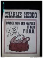 JX1   019  DEC..1972  .UDR  PATATES  BAISENT .Signé  REISER  GEBE  WOLINSKI TOC Cabu Charlie Hebdo - Journaux - Quotidiens