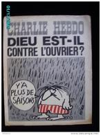 JX1   026   AOUT.1972   *.DIEU  Est'il Contre L' OUVRIER  ?    .Signé REISER GEBE WOLINSKI TOC Cabu Charlie Hebdo - Journaux - Quotidiens