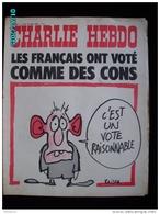 JX1   027   MARS.1973  * LES FRANCAIS ONT VOTE COMME DES CONS.... ..Signé REISER GEBE WOLINSKI TOC Cabu Charlie Hebdo - Journaux - Quotidiens