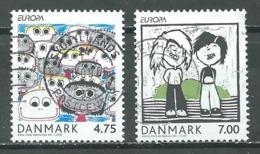 Danemark YT N°1447/1448 Europa 2006 L'intégration Oblitéré ° - Europa-CEPT