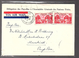 1948 Délégation Pays-Bas Holland UPU Assemblée Générale > Bekkeriing Maadstricht (650) - France